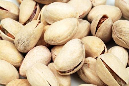 Pistachio Nuts Extreme Close Up