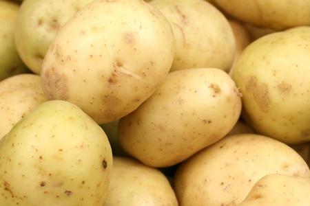 黄色いジャガイモをクローズ アップ 写真素材 - 22496328