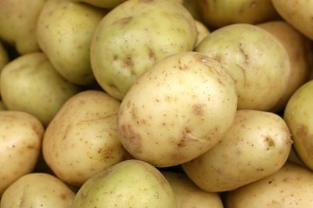 Yellow Potatoes Close Up