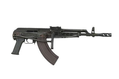 AK-47 with a folding stock Banco de Imagens