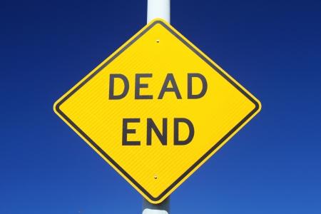 cul de sac: Dead End Sign