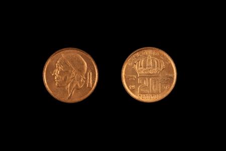 Old Belgian Twenty Centime Coin