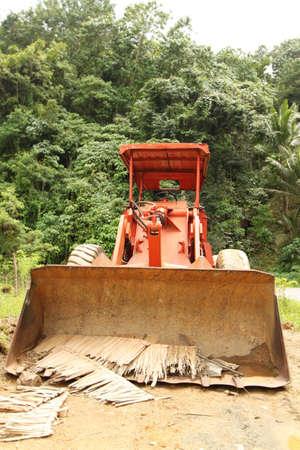Tropical Bulldozer Stock fotó