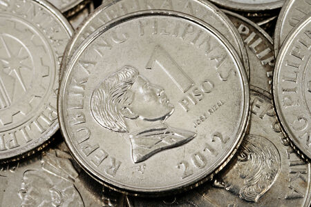 pesos: Filipino Pesos Close Up Stock Photo