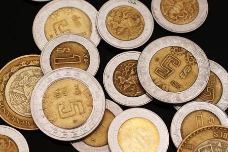 Mexican Pesos On Black