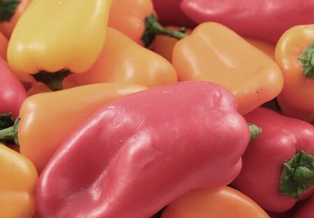 close up: Sweet Peppers Close Up