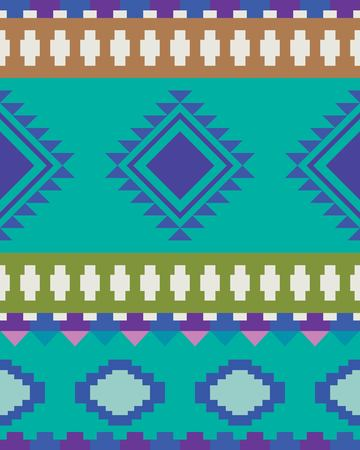 Geometric ethnic pattern traditional Design for background, carpet, wallpaper, clothing, wrapping,
