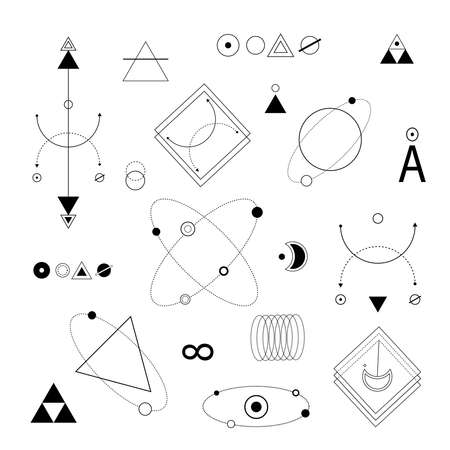 geometric collection vector