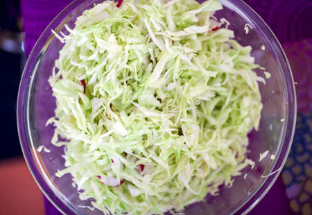 Pickled cabbage salad Stock Photo - 13647162