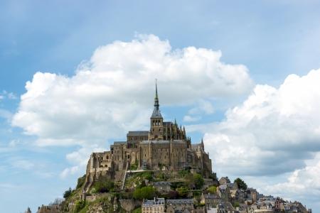 Mont Saint Michel Abbey, Normandy  Brittany, France photo