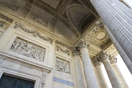 bas: bas relief, Pantheon, Paris, France Stock Photo