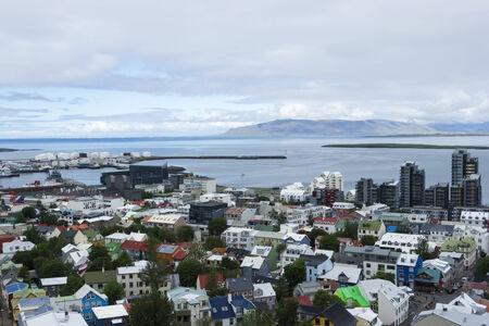reykjavik: El centro de Reykjavik, Islandia