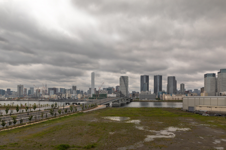 Cityscapes of Tokyo, Skyline of Tokyo, office building of Tokyo, Japan, Tokyo is the worlds most populars metropolis and centers for world business. Stock Photo