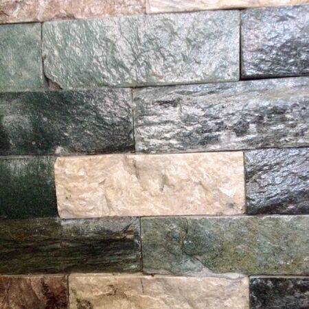 Texture of shiny stonework