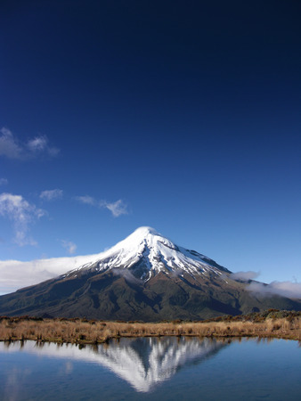 mt: Mount Taranaki Stock Photo
