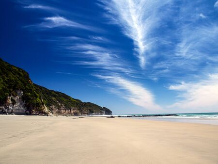 New Zealand Beach Banco de Imagens