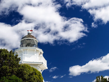 Lighthouse and Sky photo