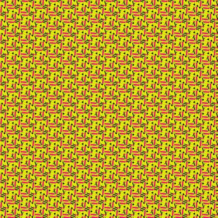 Seamless Repeatable Abstract Geometric Pattern Stock fotó