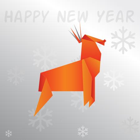 santaclause: Origami reindeer