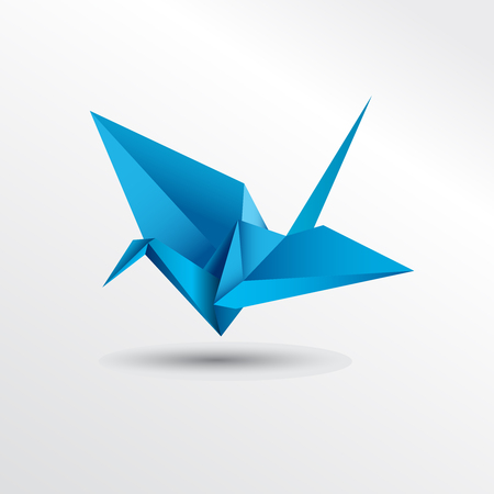 flocks: Origami bird