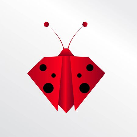 Ladybug origami