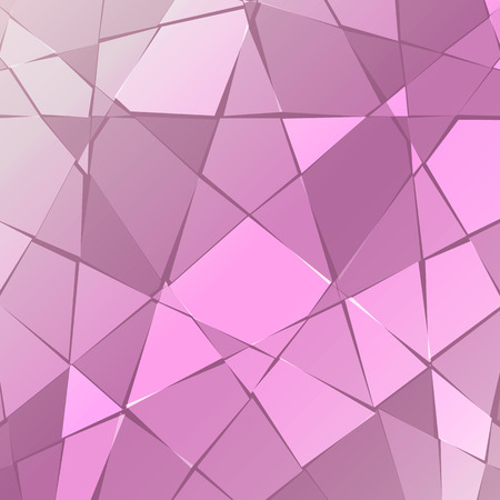 Abstract background of broken purple glass.