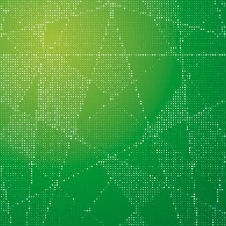 substrate: Fondo abstracto de los c�rculos blancos sobre un sustrato verde. Para su presentaci�n de negocios.