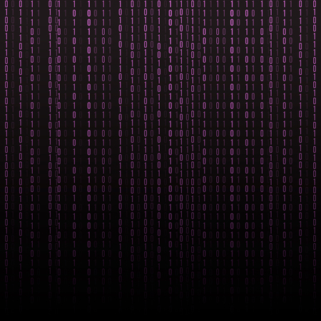 computer code: Abstract technology background. Binary Computer Code.