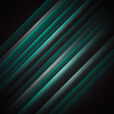 Vector abstract background. Inclined glowing stripes.