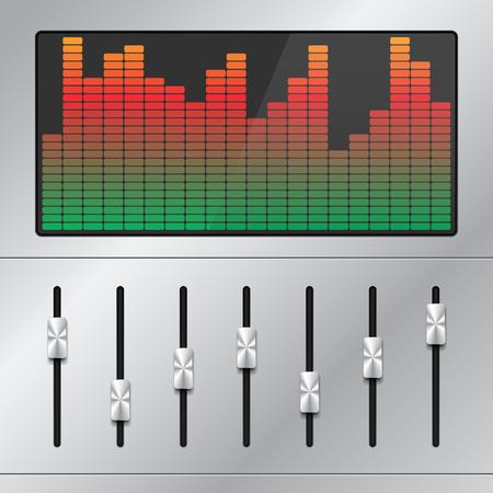 Music Equalizer Ilustração