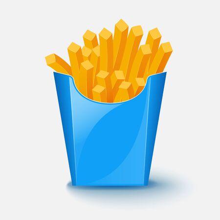 French fries potato. Vector illustration. Stock Vector - 71516862