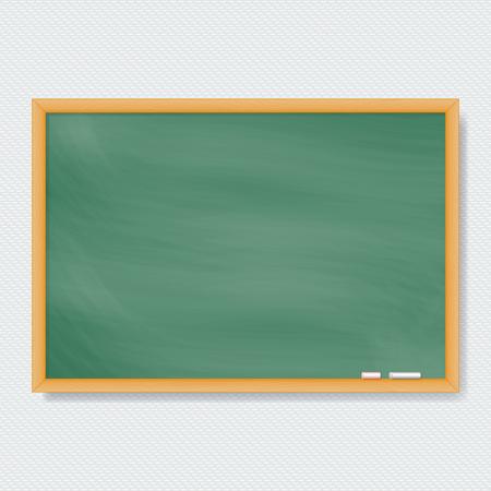 Vector Chalk Board. Vector illustration. Illusztráció