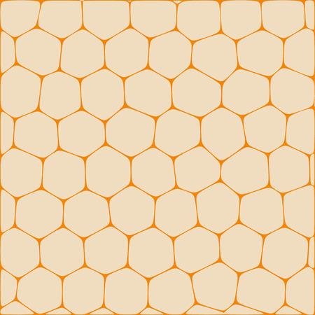 Fondo abstracto del vector que imita panales. Neto de células de forma orgánica. Foto de archivo - 73053845