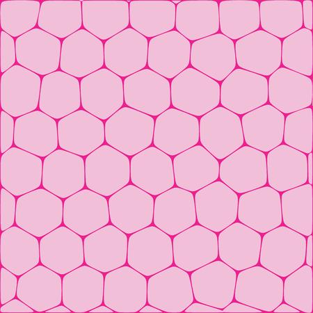 Fondo abstracto del vector que imita panales. Neto de células de forma orgánica. Foto de archivo - 73053850