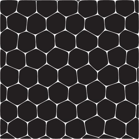 Fondo abstracto del vector que imita panales. Neto de células de forma orgánica. Foto de archivo - 73053854