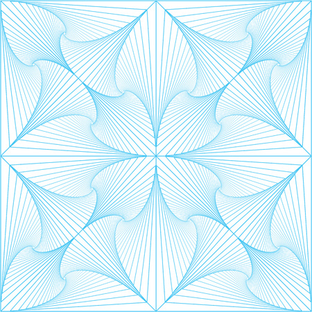 Abstract vector background consisting of interweaving lines. Can be applied to a repeating pattern.