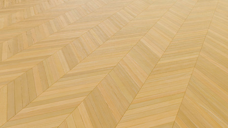 Wooden floor. Herringbone pattern. 3d render. 版權商用圖片