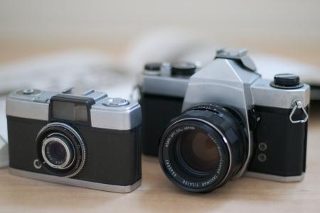 クラシック カメラ 写真素材