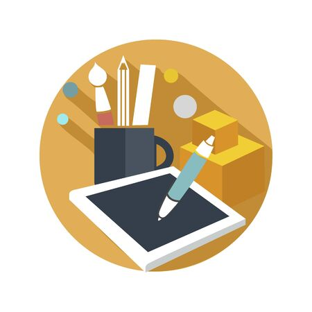 graphic icon: flat icon graphic design