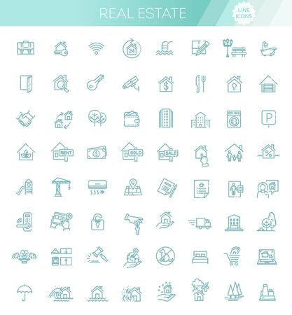 Vector Set of Real Estate Related