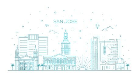Minimal San Jose City Linear Skyline