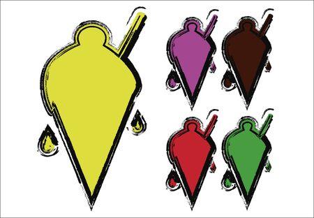 flavors: five flavors of ice cream