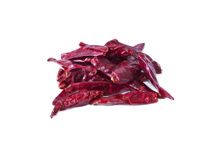 dried red pepper isolated Stock Photo