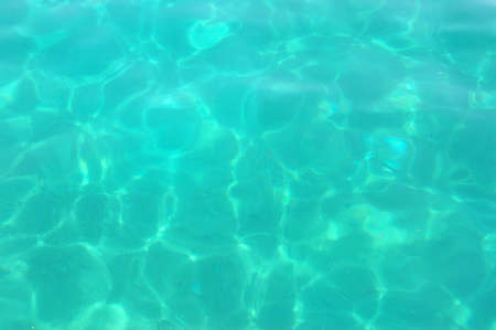 turquoise water of adriatic sea texture photo