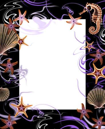 abstract marine frame photo