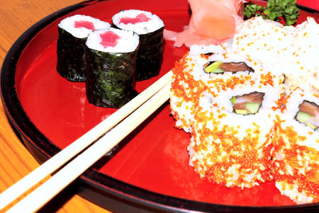 plate of sushi Stock Photo - 1639488