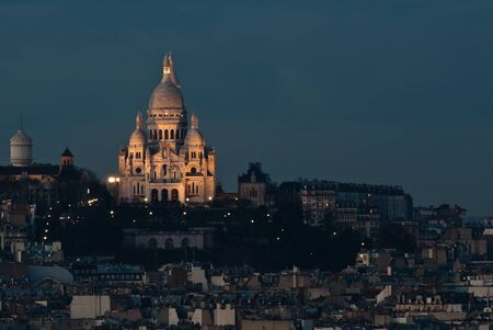 Sacre Couer in the late afternoon photo