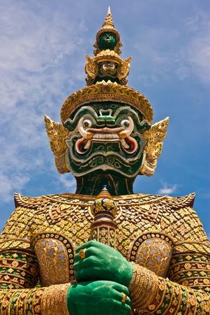 daemon: Guard Daemon - Royal Palace Thailand Stock Photo