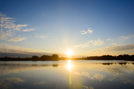 sunrise ocean: sunrise in the sea