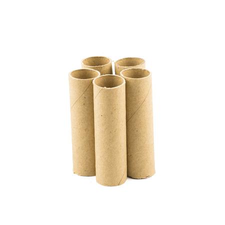 nucleo: N�cleo de papel aislado en el fondo blanco